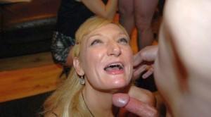 Gesicht Spritzen